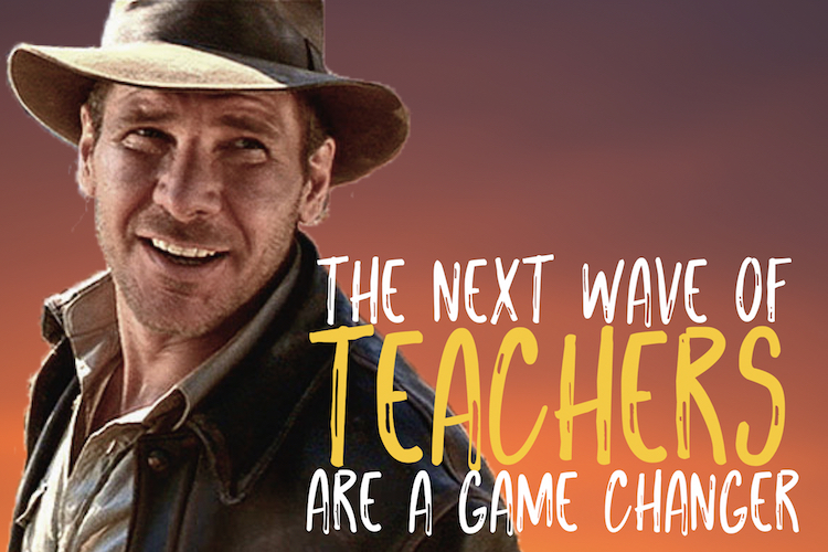 The Next Wave Of Teachers Is A Game Changer